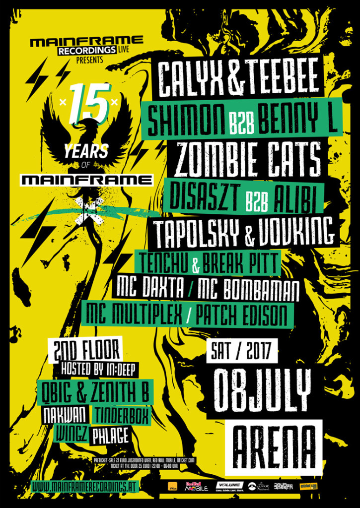 15 Years of Mainframe (08/07/17 ARENA WIEN)