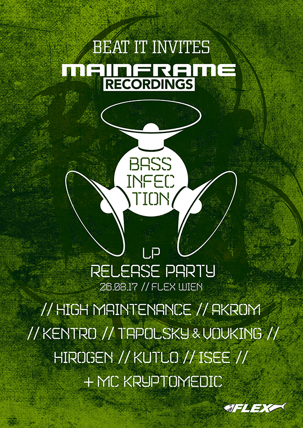 Beat It invites Mainframe Recordings – LP Release Party